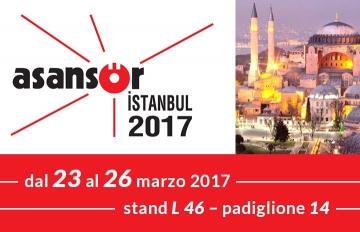 Asansor 2017 – Istanbul 23-26/03/17